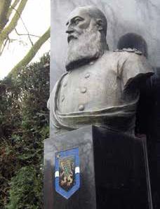 Statue de Léopold II à Gent
